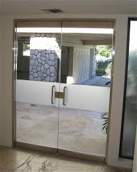 Frosted Glass Exterior Doors Commercial Exterior Doors With Glass Rogenilan Series Apartment