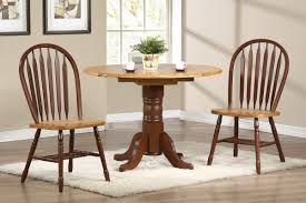 circle table with leaf circle light brown wooden table top with half round drop leaf in the