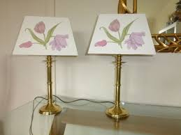 Table Lamp Shades by Surprising Rectangular Lamp Shades Two Table Lamps With Shades Of