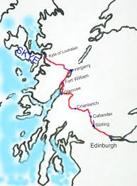 Map A Driving Route driving route to skye make a day of it must see scotland