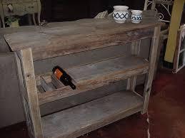 real u201cbarn wood u201d wine bar buffet table just fine tables