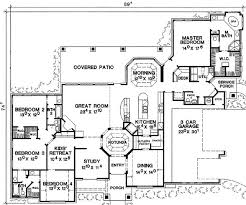 rooms in the house i want a 1 story 4 bedroom house with 2 extra rooms for library