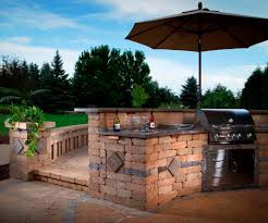 kitchen backyard barbecue design ideas in impressive backyards