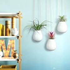 modern hanging planters unique hanging planters a recycled l base and hanging planter