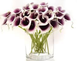 silk calla lilies calla lilies etsy