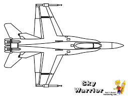 fighter jet coloring page free coloring kids 1827