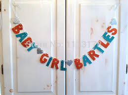Welcome Baby Home Decorations Cheap Welcome Baby Xyz Custom Baby Shower Banner Decoration
