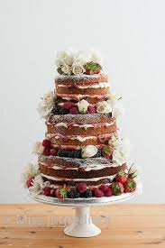 Wedding Cake No Icing 42 Best Un Iced Wedding Cakes Images On Pinterest