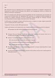 List Of Erp Systems Enterprise Resource Planning
