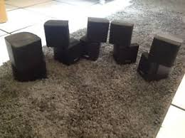 bose lifestyle 12 home theater system series 2 5 speakers only no