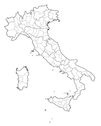 Italy Map Outline by File Italy Map With Provinces Svg Wikimedia Commons