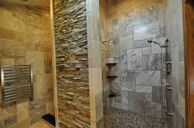minimalist natural design of the natural tile wall that has white