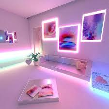 Bedroom Neon Lights Pink Lights For Room Neon Lights For Room Neon In The Room Yes