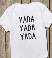 seinfeld onesie yada yada yada seinfeld baby shirt funny onesie