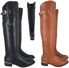 womens boots canada wide calf womens the knee flat boots ebay