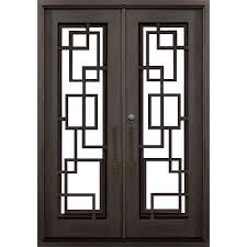 allure iron doors u0026 windows 74 in x 81 5 in flat top st andrews