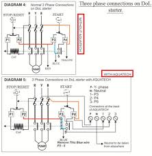 3 pahse connections on dol starter elec eng world