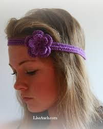 crochet flower headband free easy crochet headband with flower pattern manet for