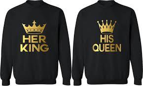 king his matching sweatshirts