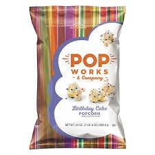 popworks and company birthday cake popcorn 24 oz sam u0027s club