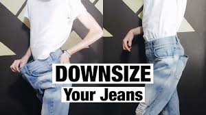 how to downsize how to downsize jeans resize waist youtube
