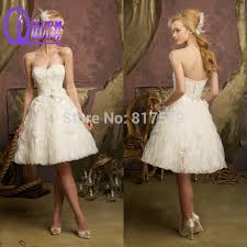 casual country wedding dresses aliexpress buy strapless beaded sweetheart