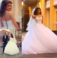 turkish wedding dresses white sweetheart princess gown wedding dress tulle