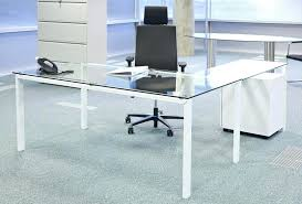 small clear glass table l computer desk glass glass computer desk glass computer desk small