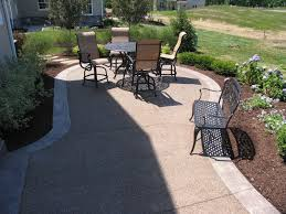 Concrete Patio Color Ideas by Exposed Aggregate Patios Driveways Porches Pool Decks And