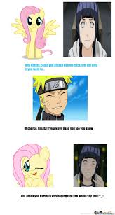 Hinata Memes - hinata is fluttershy by 0000 meme center