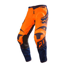 kids motocross gear closeouts fox racing 2016 youth 180 race pants orange blue available at