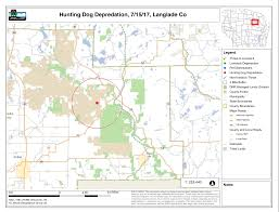Wisconsin Public Hunting Land Map first confirmed hound dog killed in wisconsin black bear training