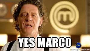 Marco Meme - yes marco marco pierre white meme generator