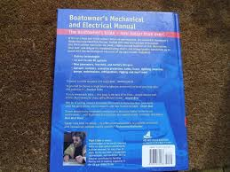 boat owners manual mechanical and electrical nigel calder in