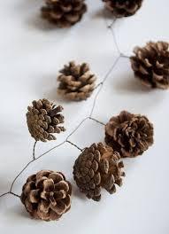 best 25 pinecone garland ideas on diy wedding
