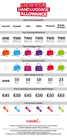 infographic know your luggage allowance