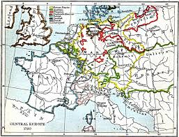 North Europe Map by Central Europe Map 1780 A D Full Size