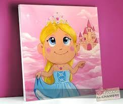 tableau deco chambre enfant tableau deco chambre fille tableau frimousse princesse tableaux