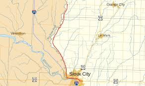 Sioux Falls Map Iowa Highway 12 Wikipedia