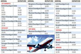 revised winter flight schedule out