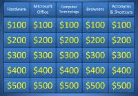 jeopardy powerpoint template 3 categoriesdownload free powerpoint