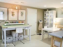 Studio Drafting Table by Where Bloggers Create 2015 Studio Tour Intentional Hospitality