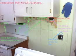 diy under cabinet led lighting how to install under cabinet led lights with hardwired lighting