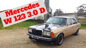 mercedes classic modified mercedes w123d 3 0d portugal stock and modified car reviews youtube