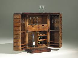 Diy Mini Bar Cabinet Furniture Rustic Small Liquor Cabinet Ikea Made Of Wood On Wooden