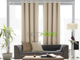 amazon com deconovo solid thermal insulated blackout curtain for