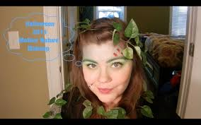 mother nature halloween makeup youtube
