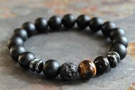 black bracelet onyx images Black onyx stone for power jpg