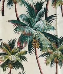 Tropical Upholstery Palm Tree Material Images Reverse Search