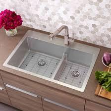 Elkay Stainless Steel Kitchen Sink by Elkay Crosstown Stainless Steel Kitchen Sinks At